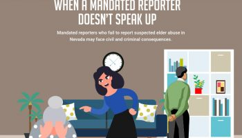 Elder Abuse: When a Mandated Reporter Doesn't Speak Up [infographic]