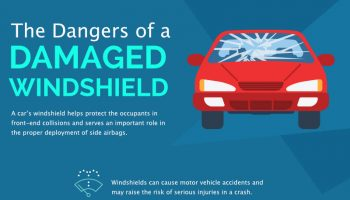 The Dangers of a Damaged Windshield [infographic]