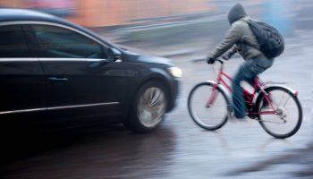 Left Hook Bicycle Accidents: Who's At Fault?